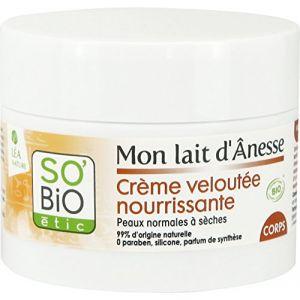So'Bio Étic Mon lait d'Ânesse - Crème veloutée nourrissante corps