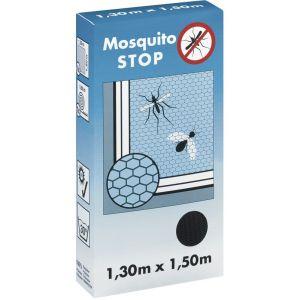 Tesa H.G. Mosquito Stop Moustiquaire avec bande Velcro Noir 13x15m