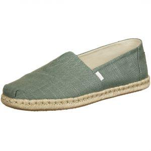 Toms Linen Rope Alpargata Espadrilles - Sneakers taille 12, gris/beige