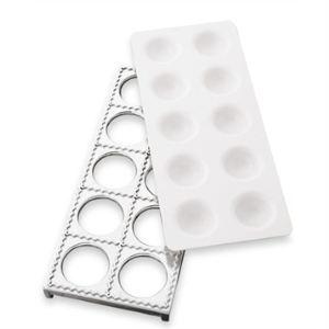 Tellier Plaque 10 raviolis carrés