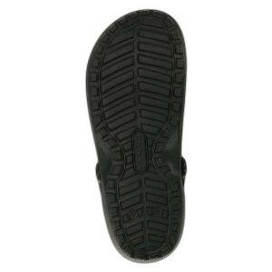Crocs Sabots Classic Lined Clog - Black / Black - EU 45-46