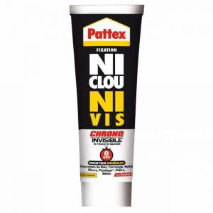 Pattex Mastic fixation - Ni Clou Ni Vis - invisible - 40 mL