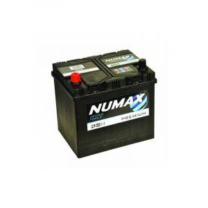Numax Batterie de démarrage Premium D23R 0005R 12V 60Ah / 500A