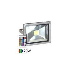 Vision-El Projecteur Led 20 W 16 couleurs avec télécommande