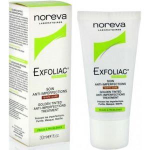 Noreva Exfoliac - Soin anti imperfections, teinté doré