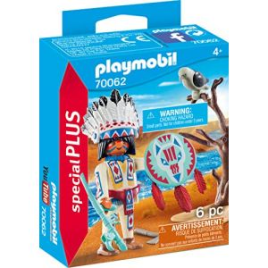 Playmobil 70062 - Dinos - Spécial Plus - Chef de tribu autochtone - 2020