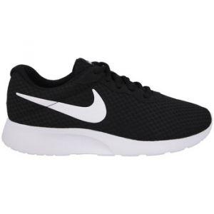 Nike Tanjun (GS), Baskets Garçon, Noir (Black/White-White 011), 38.5 EU