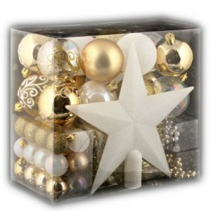JJA Kit décoration pour sapin de Noël