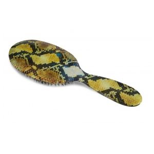 Rock and Ruddle Snake Skin Grand Format - Brosse à cheveux en poils de sanglier