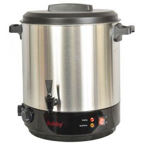 Robby Steri pro inox xl - Stérilisateur électrique avec robinet et minuteur 31l 2100w inox