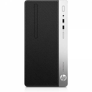 HP ProDesk 400 G5 - Micro-tour - 1 x Core i5 8500 / 3 GHz - RAM 8 Go - SSD 256 Go - graveur de DVD - UHD Graphics 630 - GigE - Win 10 Pro 64 bits - moniteur : aucun - clavier : français