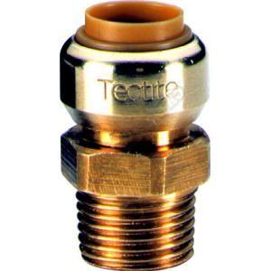 Comap T243G1438 - Manchon T243G instantané tectite male femelle D14-12x17 pour tube cuivre PER et PB