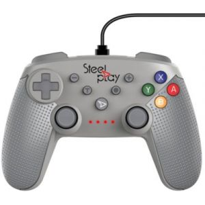Steelplay Manette Switch Filaire Edition SNES