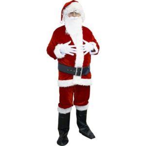 Déguisement Père Noël panne de velours (taille M/L ou XL)