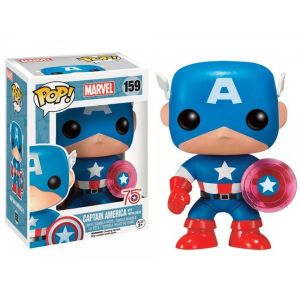 Funko Figurine Pop! Marvel Captain America 75th Anniversary