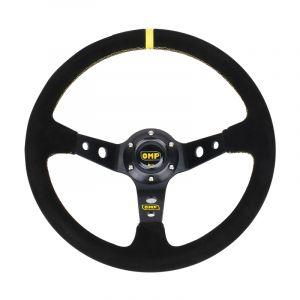 WeWoo Omp Deep Disc 6 Boulons Voiture Modifiée Sport Corne Bouton Volant, Diamètre: Environ 35cm