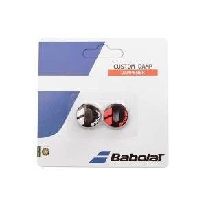Babolat bébélat Custom Damp X2 Black Fluo Red Antivibrateurs