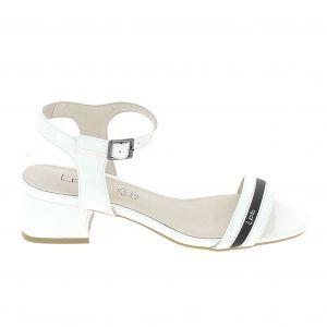 Image de LPB Shoes Sandales Peggy Blanc blanc - Taille 36,37,38,39,40