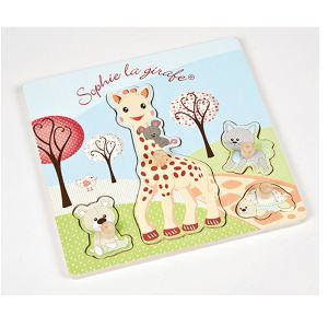 Janod Puzzle Sophie La Girafe 4 pièces