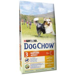 Dog chow Mature Adult Poulet - Sac 14 kg