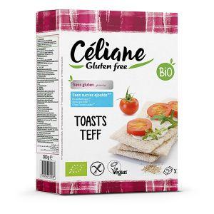 Les Recettes de Céliane Toasti Teff 200g