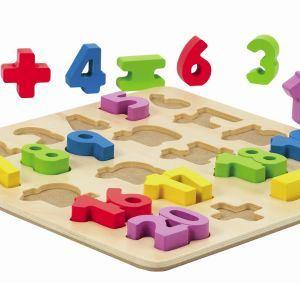 Hape Puzzle Chiffres en bois
