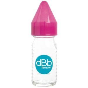 dBb Remond Biberon Jus de fruit Régul'air en verre avec tétine en silicone