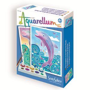 Sentosphère Aquarellum Mini : Dauphins