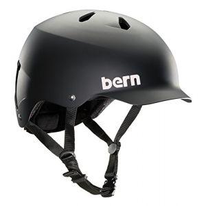 Bern Watts Thin Shell EPS - Casque vélo urbain homme noir XXL/XXXL