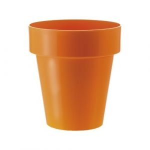 Herstera 09733 Cache-Pot 25 x 27 cm 25 x 27 cm Orange