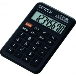 Citizen LC-210N - Calculatrice de poche