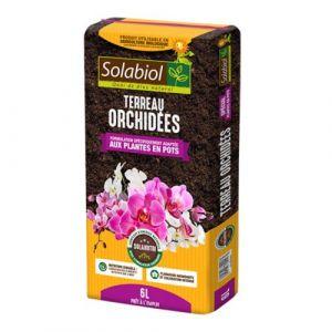 Solabiol TERORC6 Terreau Orchidées, Brun, 6 L