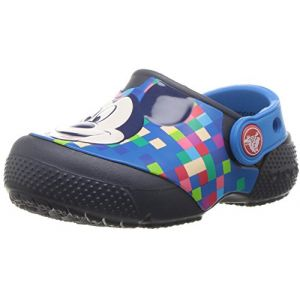 Crocs Fun Lab Mickey Clog, Sabots Mixte Enfant, Bleu (Navy) 34/35 EU