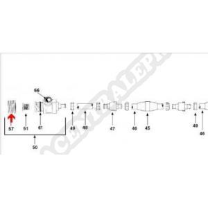 Procopi 1002038 - Adaptateur de prise paroi de balai Legend
