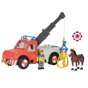 Smoby Camion grue Sam le Pompier