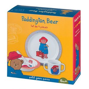 Petit Jour PA901J - Coffret repas 4 pièces Paddington Bear