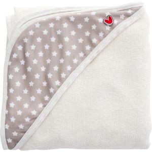 Baby to Love Sortie de bain bébé Papillon white stars