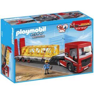 Playmobil 5467 City Action - Tracteur routier avec grande remorque