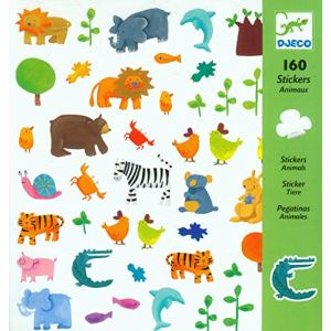 Djeco Stickers Animaux