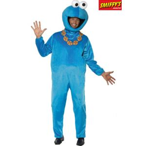 Smiffy's Déguisement Cookie Monster Sesame Street homme (taille M)