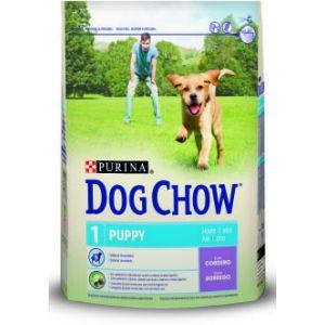 Purina Dog Chow Puppy agneau & riz - 14 kg