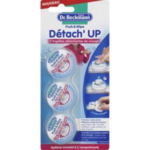 Image de Dr Beckmann Détach'Up Push & Wipe - Lingettes détachantes de voyage