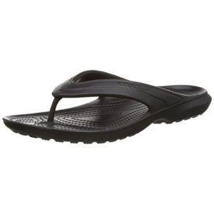 Crocs Classic, Tongs - Mixte Adulte - Noir (Black) - 45-46