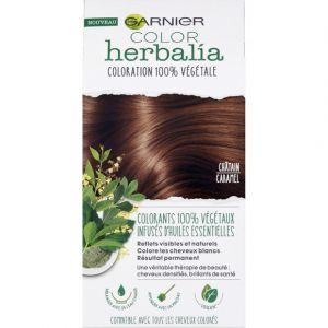 Garnier Herbalia Coloration 100% végétale châtain caramel