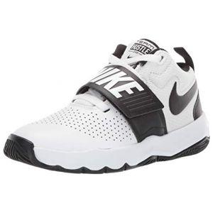 on sale e85cd 093ba Nike Chaussure de basketball Team Hustle D 8 pour Jeune enfant - Blanc -  Taille 31.5