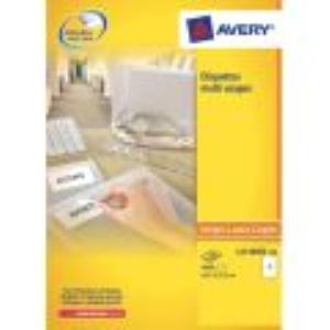 Avery-Zweckform L4732 - 2000 étiquettes d'adresses enlevables (1,69 x 3,56 cm)