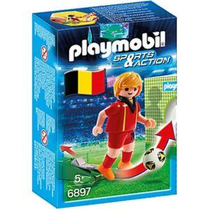 Playmobil 6897 Sports & Action - Joueur de foot Belgique