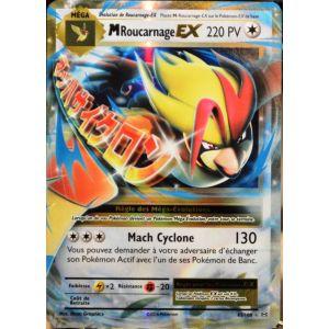 Asmodée Méga Roucarnage Ex - Carte Pokémon 65/108 Xy Evolutions