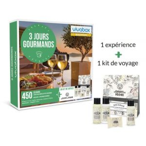 Vivabox 3 jours Gourmands - Coffret cadeau