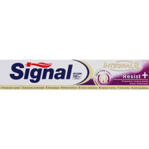 Signal Dentifrice Integral 8 Resist+ Plus 75ml